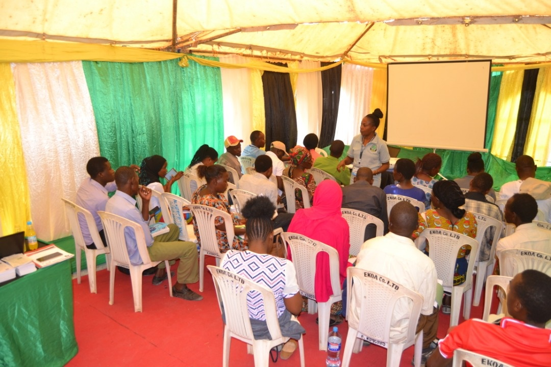 Training on accessing Mkulima collection
